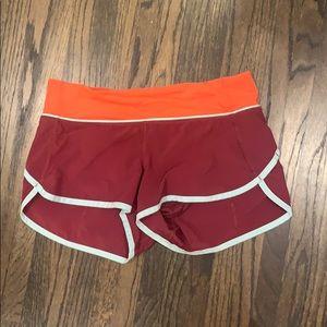 🍋Lululemon Speed Up Shorts Discontinued Size 4🍋